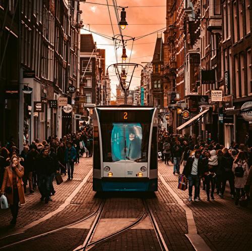 Nazomeren in Amsterdam